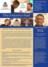 2017 Spring Newsletter - The Falcon's Nest